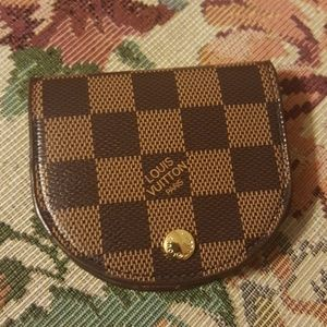 NWOT Louis Vuitton Paris Coin Purse